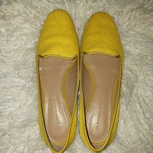 Gently used Banana Republic calf hair loafer